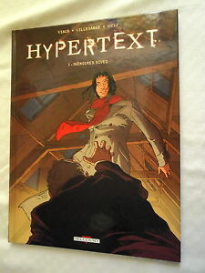 ALBUM-BD-HYPERTEXT-T-1-MEMOIRES-VIVES-1ere-EDITION