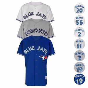 Toronto-Blue-Jays-Authentic-MLB-On-Field-MAJESTIC-Classic-Jersey-Collection-Men