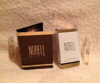2 X Norell Elixir & York Fragrance Edp 0.05oz Brand In Box Splash Vial