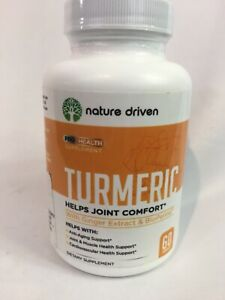 Best Turmeric Supplement 2020 NATURE DRIVEN PRO HEALTH SUPPLEMENT TURMERIC W/ GINGER EXTRACT