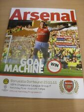 23/11/2011 Arsenal v Borussia Dortmund [Champions League] . (Any noticable fault