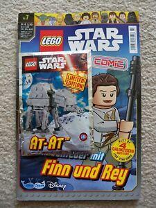 LEGO-Star-Wars-Rare-German-Comic-Magazine-w-911615-AT-AT-foil-pack-set