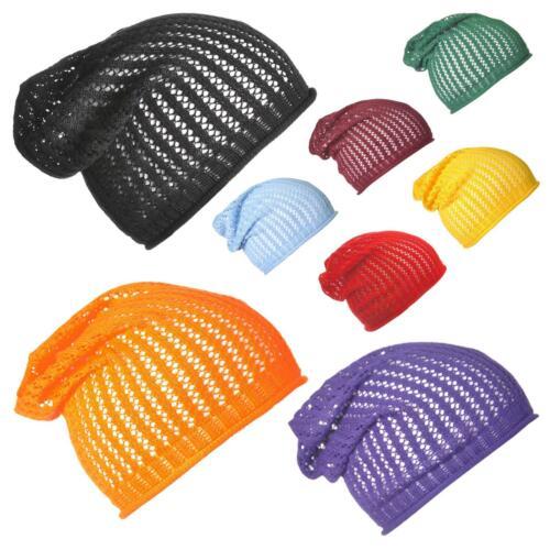Malla de 100/% Algodón Llano Slouchy Sombreros De Verano Ligero Beanie slouchie Slouch