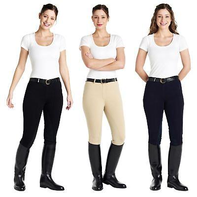 Caldene Da Donna Chelsea Elastico Mostra Concorso Equitazione Calzoni-