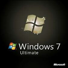 Microsoft Windows 7 Ultimate 32/64bit Genuine License Key Product Code