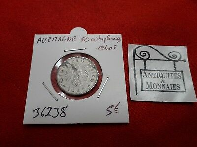 Coin 50 Reichspfennig 1940 F In Charitable Germany Ref36238 Fashionable Style;