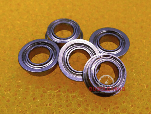 "Stainless Steel Flanged Ball Bearing FR2-5zz 10PCS SFR2-5zz 1//8/""x5//16/""x9//64/"""
