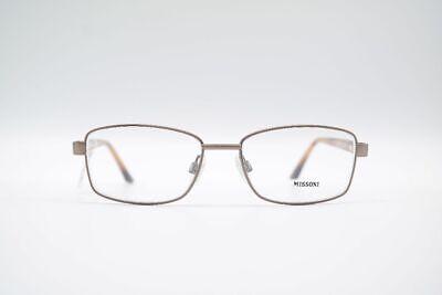 Angemessen Vintage Missoni Mod. Mi223-04 Col. 169 52[]16 135 Braun Gold Oval Brille Nos