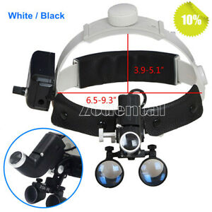 Dental-3-5X-Surgical-Medical-Headband-Binocular-Loupes-with-LED-Light-2-Colors