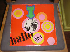 Hallo Nr.1 LP East German AMIGA 1972 Hard Rock Psych Fuzz compilation Insert