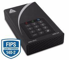 Apricorn Aegis Padlock DT FIPS ADT-3PL256F-4000 4 TB 3.5 External Hard Drive