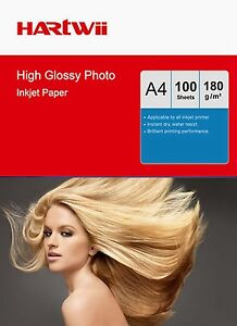 Hartwii-100-Sheets-A4-180-Gsm-High-Glossy-Photo-Paper-Inkjet-Paper-Printing-AU