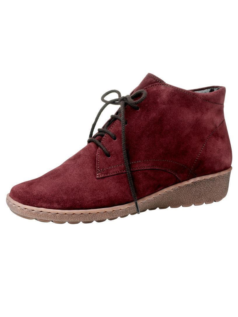Zapatos by señora Zapatos botas botines de cuero ancho Jenny by Zapatos ara /37 4d787b
