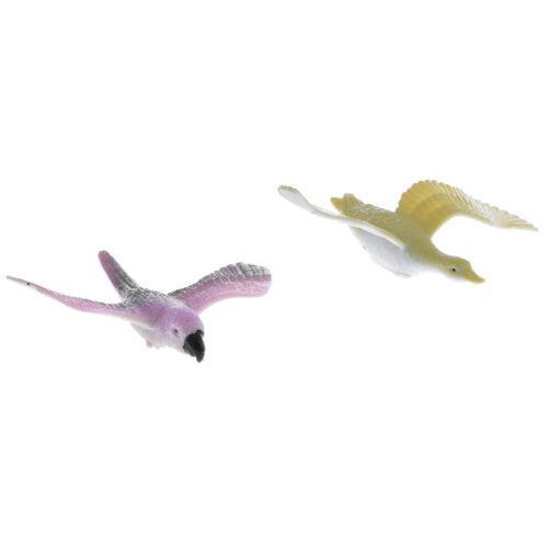12 un. Figuras Juguetes Pájaro realista Volando Pájaro Niños Juguete Regalo Coleccionables