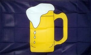 5ft x 3ft Flag Beer Party
