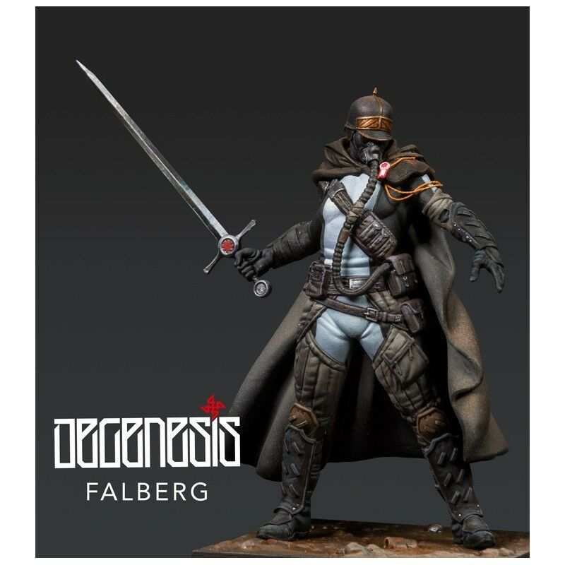 Scale 75 Degenesis Falberg 75mm resin Unpainted Kit