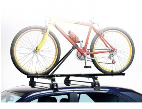 1x Eu Made Universal Car Roof Bicycle Bike Carrier Upright Mounted Cycle Rack