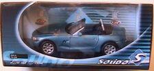 BMW Z4 CABRIOLET ROADSTER BLEU BLUE SOLIDO PRESTIGE N° 8160 1/18 LEFT HAND DRIVE