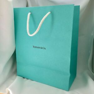 Tiffany & Co Blue Shopping Bag Gift Bag 9.75