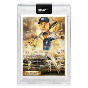 Topps-PROJECT-2020-82-1993-Derek-Jeter-by-Andrew-Thiele-W-BOX-WILL-SHIP