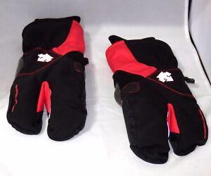 DESCENTE-ELEMENT-DOUBLE-DIGIT-Winter-Gloves-Size-M