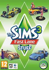 Los Sims 3 Fast Lane Stuff Expansion Pack Pc Y Mac Dvd Nuevo Y Sellado