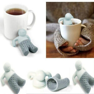 Moda-Mr-Tea-Infusor-Silicona-Filtro-Te-Infusor-Colador-Hierbas-Especias-Hoja-Tea