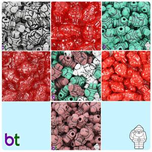 BeadTin 24mm Santa Pony Beads Style choice 24pcs