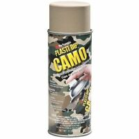 6 Pack Camo Plasti Dip Rubber Coating Spray Paint - Various Colors - Ships Free