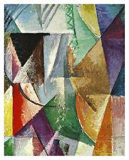 Robert Delaunay Ein Fenster Poster Kunstdruck Bild 59x47cm - Kostenloser Versand