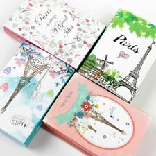 Eiffel Tower Memo Pad Sticky Notes Notepad Bookmark Cute Gift Stationery Folding