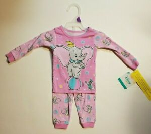 Girls PEANUTS SNOOPY PINK CHRISTMAS BABY PAJAMAS SIZE 9 12 18 MONTHS 9M 12M 18M