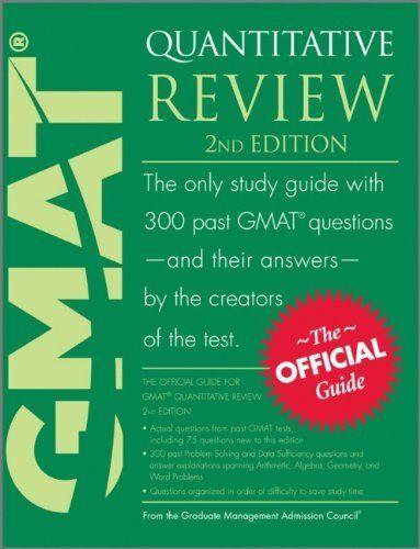 GMAT Quantitative Review By Graduate Management Admission Council