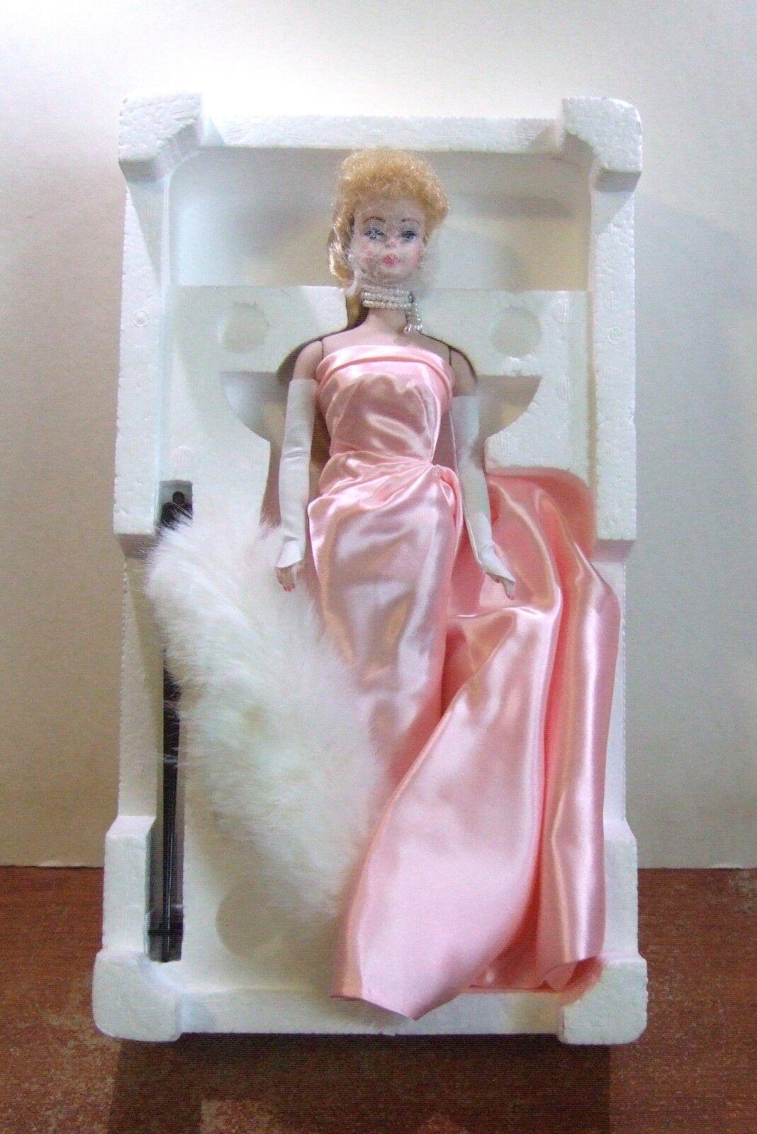 1987 Enchanted Abend Porzellan Barbie 1960 Reproduktion Limited Ed Nib (Z105