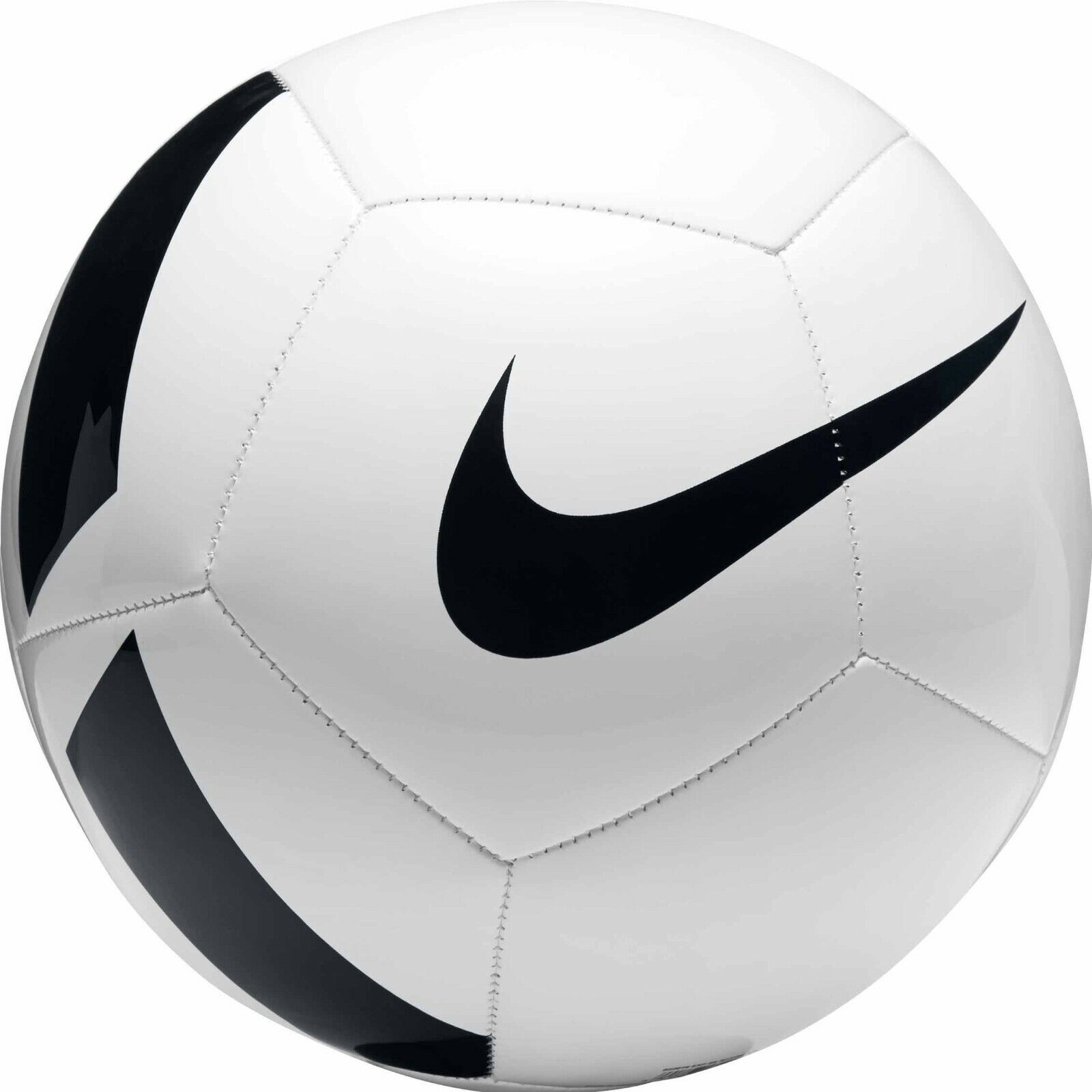 NIKE PITCH TEAM TRAINING SOCCER BALL SIZE 4 WHITE