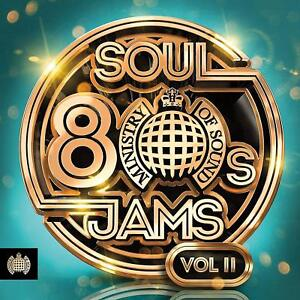 MOS-80s-SOUL-JAMS-VOL-II-Ministry-Of-Sound-CD-Sent-Sameday