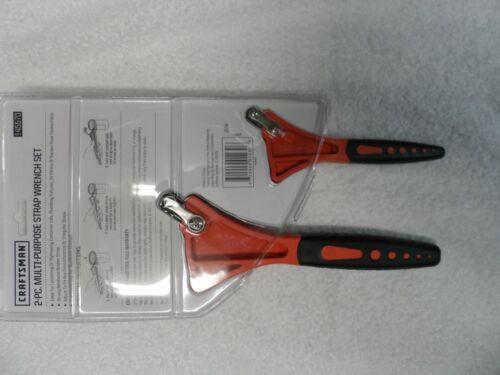 Craftsman 2-PC Multi-Purpose Rubber Strap Wrench Tool Set NIP 9-45570 45570