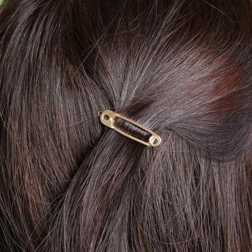 2pcs Charm Bridesmaid Hair Pin Barrette Clip Hairpin Stick Paperclip Headwear JT
