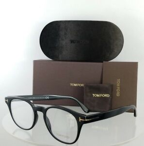 d5f026451e2 Brand New Authentic Tom Ford Eyeglasses FT TF 5400 001 Shiny Black ...