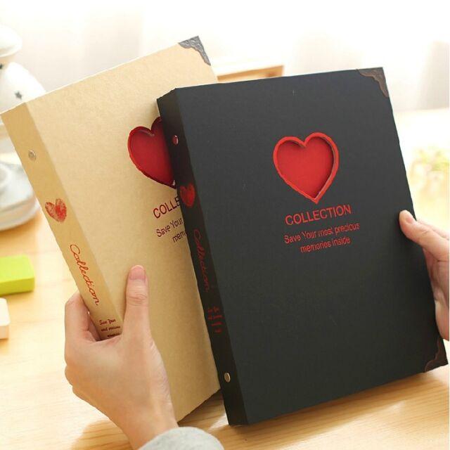 """Love Collection"" 1pc DIY Photo Album Mommy Book Big Wedding Home Picture Album"