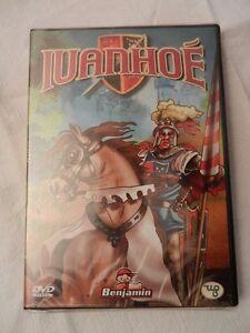 Ivanhoe cartoni animati francese film dvd ebay