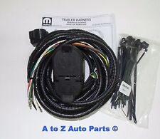 oem mopar 7 way connector trailer tow wiring harness 2014 dodge 2014 dodge durango tow package at 2014 Durango Trailer Wiring Harness