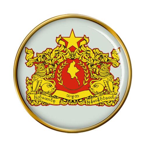 Insignia pin de Birmania Myanmar