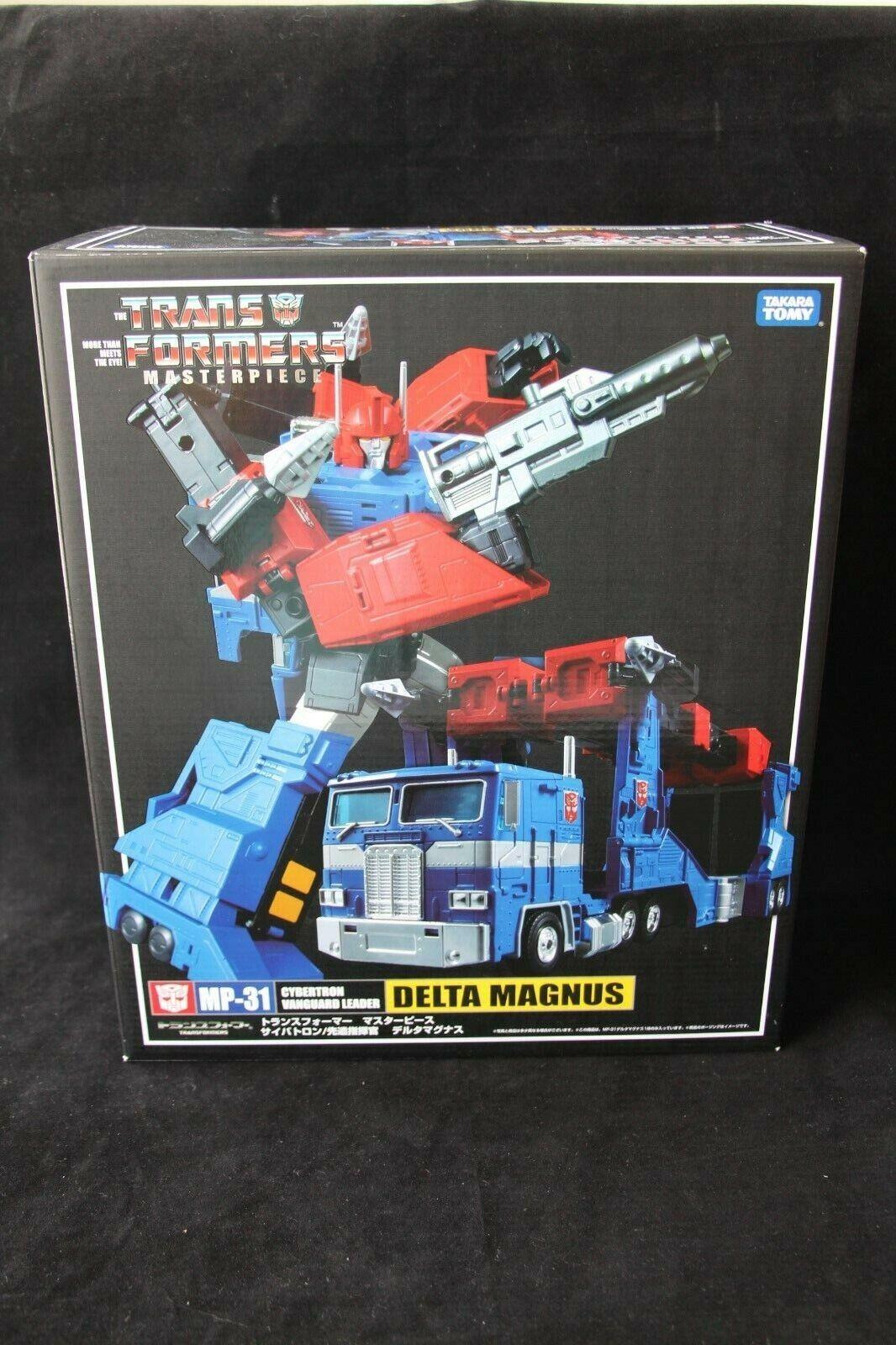 Transformers Takara Masterpiece MP-31 Delta Magnus Diaclone auténtico Menta en Caja Sellada