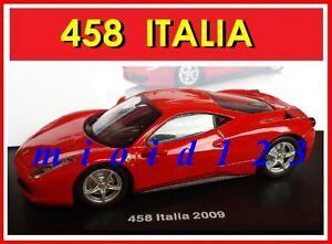 1-43-Ferrari-GT-Collection-458-ITALIA-2009-Die-cast