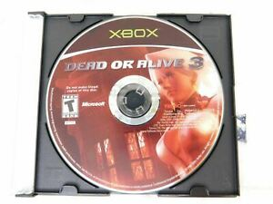 Dead-or-Alive-3-Microsoft-Xbox-Disc-Only-Cleaned-and-Tested