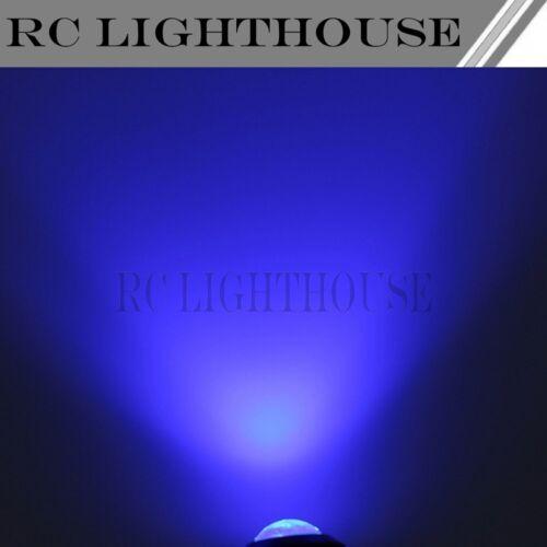 2 Blue HID HD LED Light Bulbs for 1//5 1//7 1//8 1//10 scale racing 12RC 2HD2B