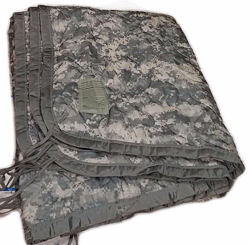 Poncho Liner Woobie Blanket US Military ACU Digital Camo Army used VG bulk list