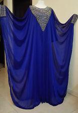 Ramadan Abaya Galabia frasha style embroidery crystal maxi moslim Long Sleeve