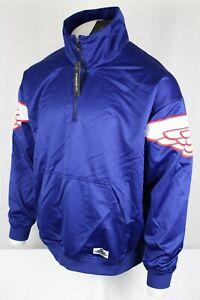 Nike-Air-Jordan-Men-039-s-Wings-Classics-Half-Zip-Jacket-Large-Blue-AO0406-455